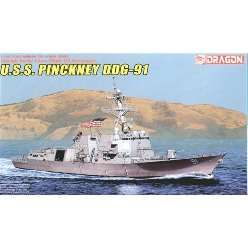 Dragon 7057 - USS Pinckney DDG91, 1:700