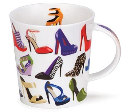 Dunoon Kaffeebecher Lomond (320ml) Looking Good Motive / Schuhe
