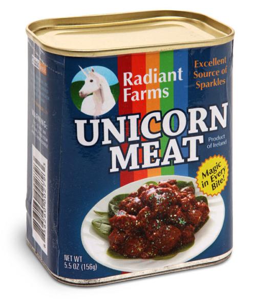 Einhorn Dosenfleisch - Tindose mit Ueberraschung