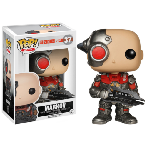 Evolve - POP Games Vinyl Figur Markov