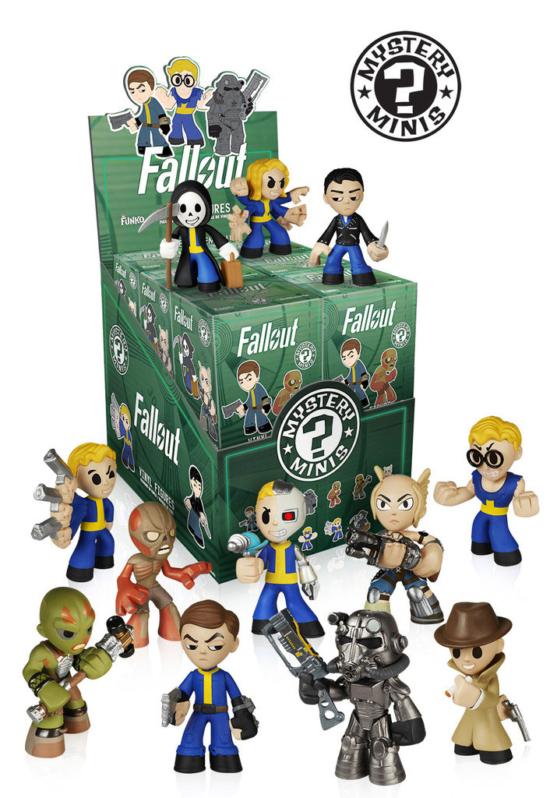 Fallout 4 - Mystery Minis - Vinyl Minifiguren