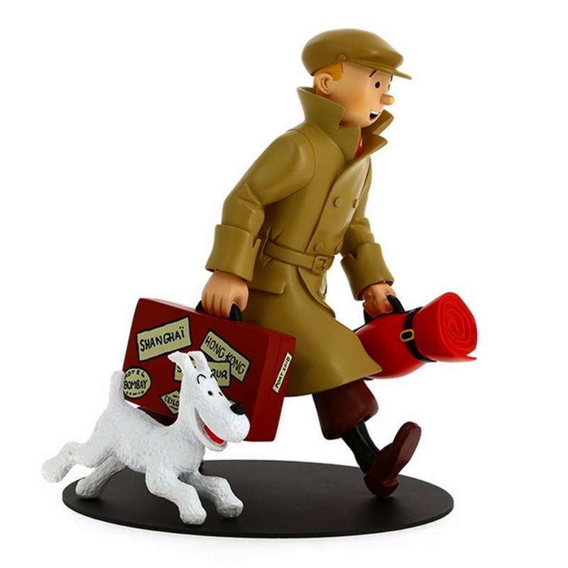 """Figur Tim und Struppi """"sie kommen an"""" / Tintin et milou """"ils arrivent"""""""