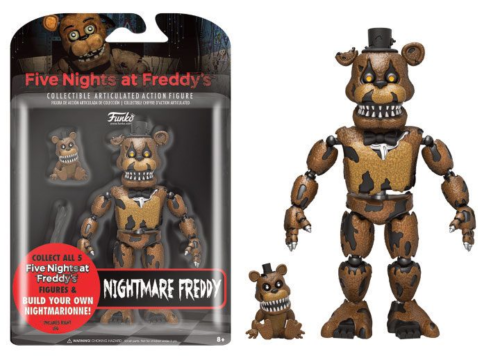 Five Nights at Freddy's - Actionfigur Nightmare Freddy