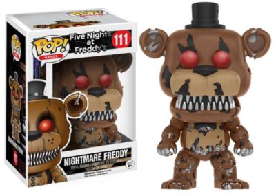 Five Nights at Freddy's - POP Games Vinyl Figur Nightmare Freddy