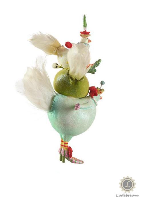 Krinkles - drei französische Hennen