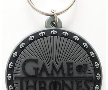 Game of Thrones - Gummi-Schlüsselanhänger Logo