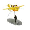 """Gelbes Wasserflugzeug """"Ottokars Zepter"""" / Hydravion jaune"""