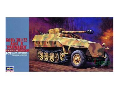 "Hasegawa 31145 - SdKfz 251/22 Ausf. D ""Pakwagen"", 1:72"
