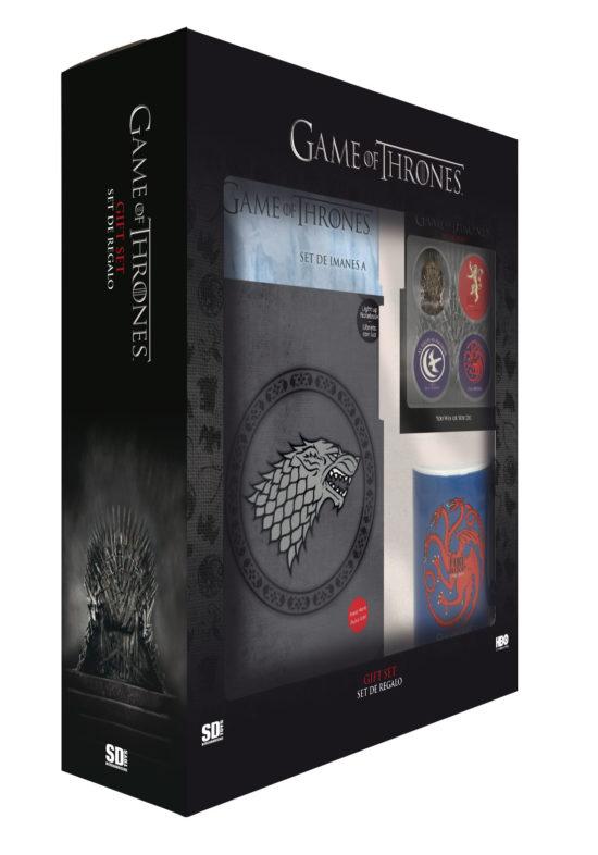 Game of Thrones - Gift Box Stark, Lannister, Targaryen