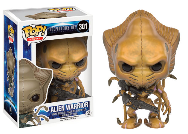 Independence Day 2 - POP Television Vinyl Figur Alien Warrior