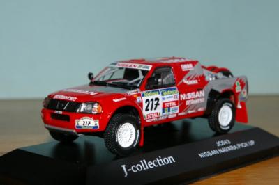 J-collection - Nissan Navara Pick up Nr. 217 Dakar Rally 2003 De Villiers - Maimon, 1:43