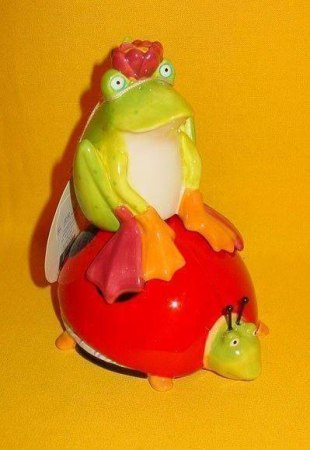 Krinkles -Frosch und Marienkäfer - Salz- und Pfefferstreuer