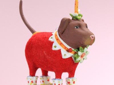 Krinkles - Mini Lola Choco Ornament
