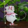 Krinkles - Squeak Woodland Snowshoe Mouse Female