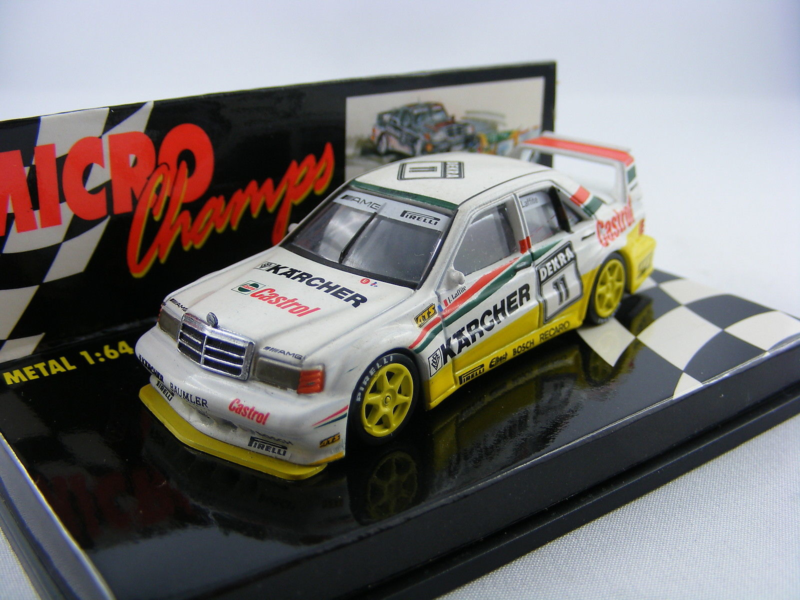 Paul's Model Art Minichamps - Mercedes 190E 2.5-16 EVO2 Dekra 11 Laffite, 1:64