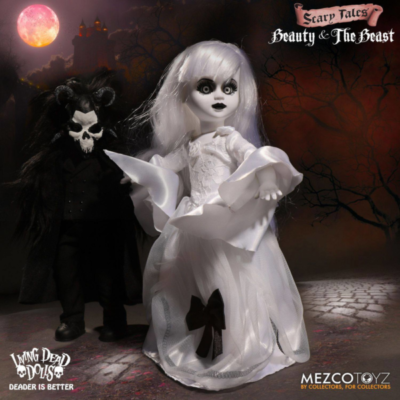 """Living Dead Dolls - Scary Tales Puppen Set """"Beauty and the Beast"""""""