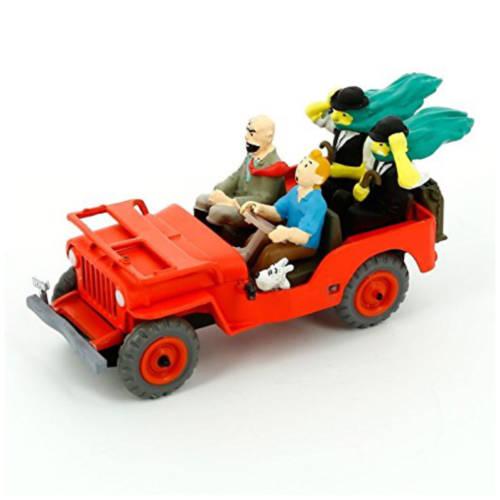 Tim und Struppi - Tintin et milou - Willys MB 1940 Jeep 1:43