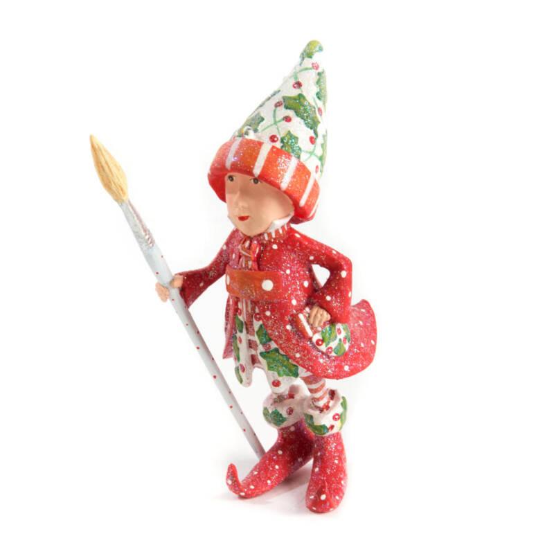 Krinkles -Dash Away Vixen's Elf Ornament