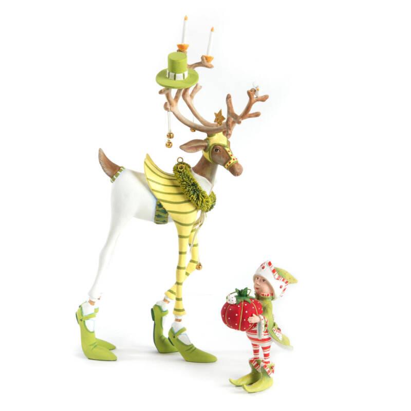 Krinkles - Dash Away Prancer's Elf Ornament