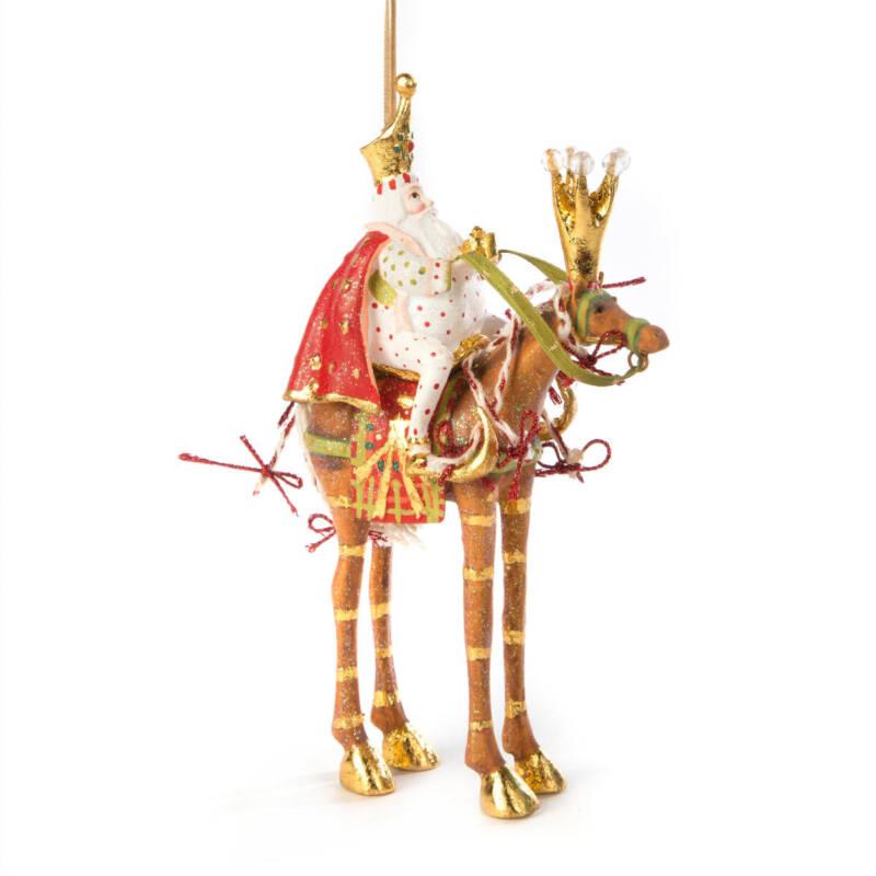 Krinkles - Krinkles - Nativity Minifiguren - Pferd Golda mit Heilgem König Melchior