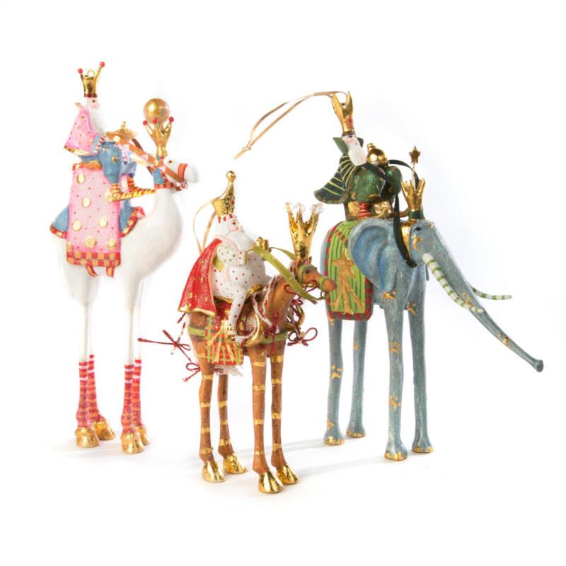 Krinkles - Pferd Golda mit Heilgem König Melchor