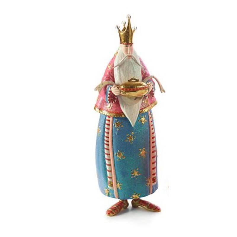 Ludibrium-Krinkles - Nativity Mini Figuren - der heilige drei König blauKrinkles - der heilige drei König blau