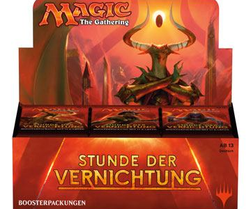 Magic the Gathering - Stunde der Vernichtung Booster Packung deutsch