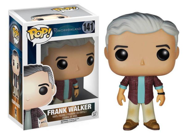 A World Beyond - POP Disney Vinyl Figur Frank Walker