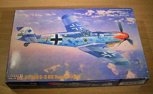 "Master Craft - Messerschmitt BF-109 G - R6 ""Roten Jäger"""