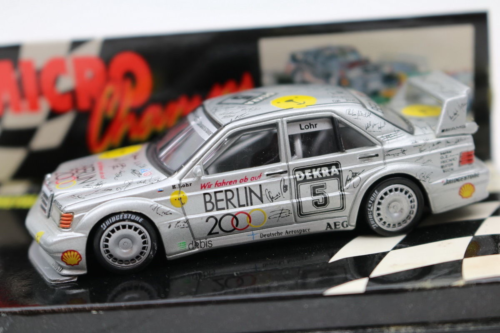 Paul's Model Art Minichamps - Mercedes Benz E190 EVO 2 1992 Dekra 5 Lohr, 1:64