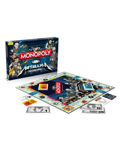 Metallica - Brettspiel Monopoly