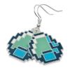 Minecraft - Ohrringe Diamond