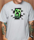 Minecraft - Premium T-Shirt Creeper Inside
