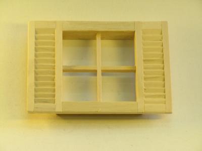 Mini Mundus - 4tlg. Sprossenfenster 1:12