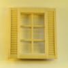 Mini Mundus - 6tlg. Sprossenfenster 1:12