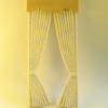 Mini Mundus - Fenster-Vorhänge 1:12