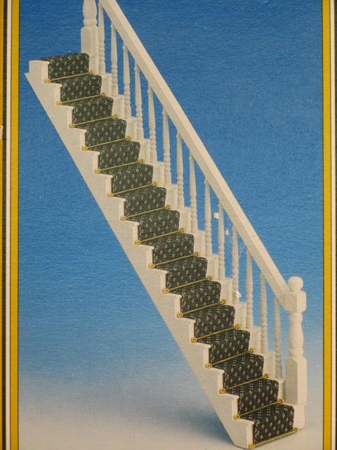 Geradläufige Treppe mini mundus geradläufige treppe 1 12 ludibrium