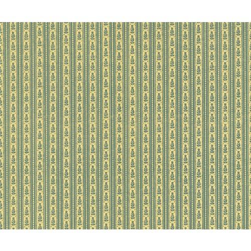 Mini Mundus - Tapete schmale Streifen grün