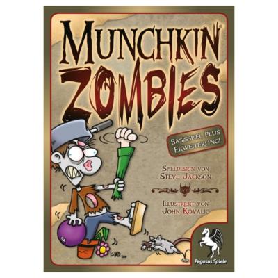 Munchkin - Zombies 1 und 2, Basisspiel und Erweiterung