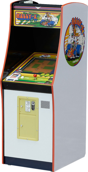 NAMCO Arcade Machine Collection - Mini Replik 1/12 Rally-X