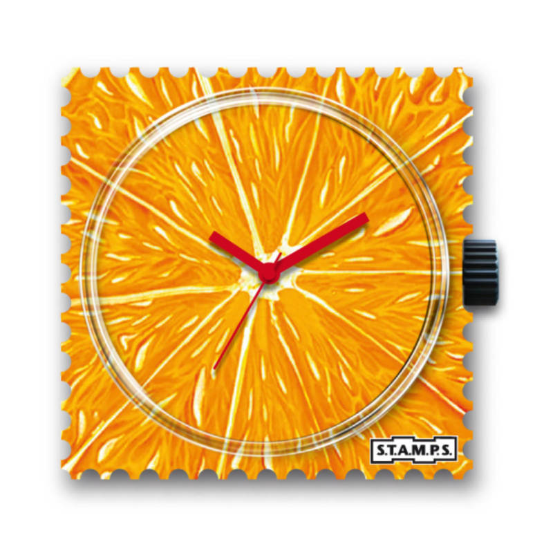 S.T.A.M.P.S. - Uhrenmotiv Orange