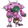 Overwatch - Super Sized POP! Games Vinyl Figur D.VA & Meka