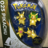 Pokémon - Metallic Minifiguren - 4er Pack