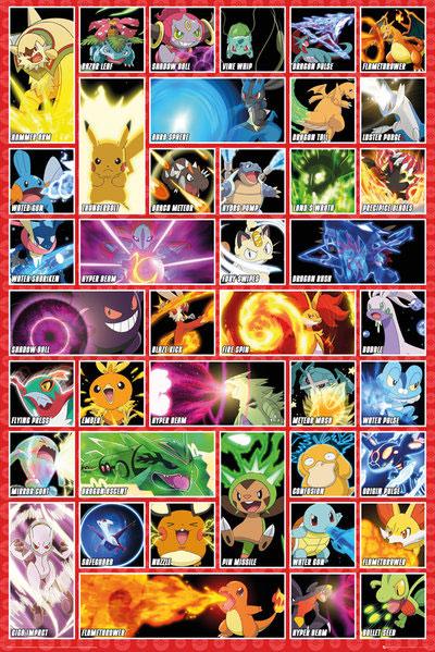 Pokémon Poster - Collage 61 x 91 cm