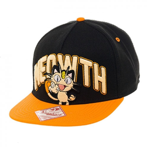 Pokémon - Snap Back Hip Hop Cap Meowth