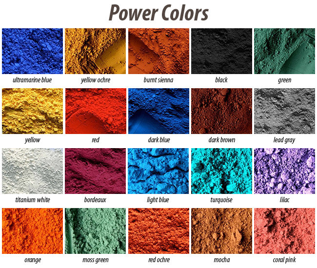 Powertex - Pigment Red Oker - 0096