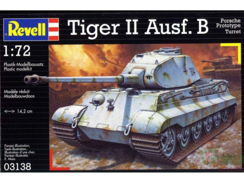Revell 03138 - Tiger II Ausf. B, 1:72