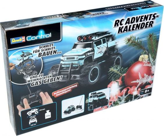 revell control rc adventskalender rc truck blau ludibrium worbla. Black Bedroom Furniture Sets. Home Design Ideas