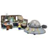 Rick & Morty - Large Bauset Spaceship & Garage