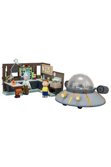 Rick & Morty - Large Bauset Spaceship & Garage